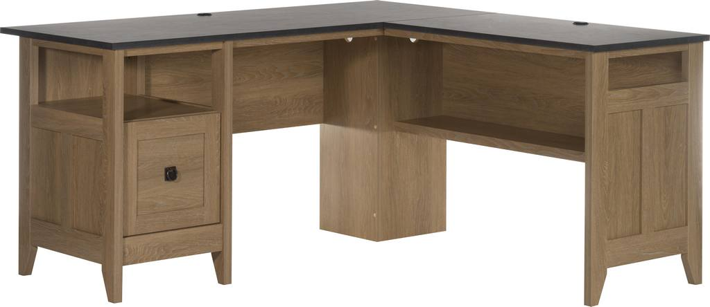 TEKNIK Home Study L-shaped Office Desk - Slate