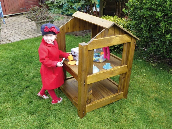 Cicada EYFS Outdoor Wooden Outdoor Role Play Cabin