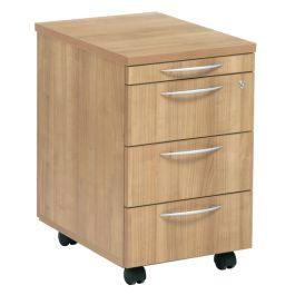 E Space 3 Drawer Mobile Office Pedestal