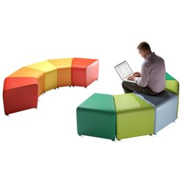 Bob and Weave Fabric Breakout Seating
