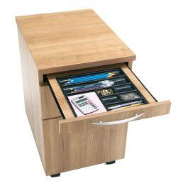 E Space 2 Drawer Mobile Office Pedestal