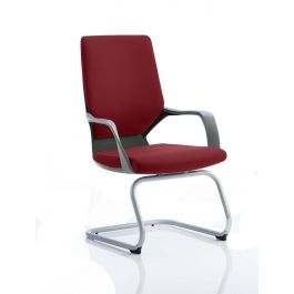 Xenon Visitor Cantilever Black Shell Chair