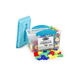 Magnetic Letters, Lowercase Pack of 286 in Strong Storage with Lid and Carry Handle