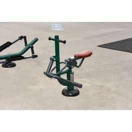 Children's Horse Rider Outdoor Gym Equipment