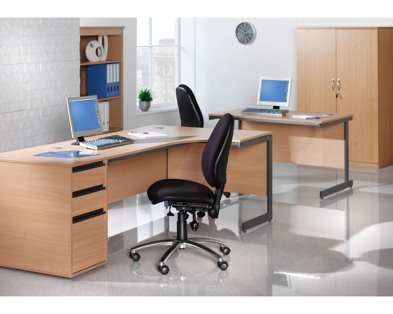Maestro Desk End Pedestal 746mm Deep
