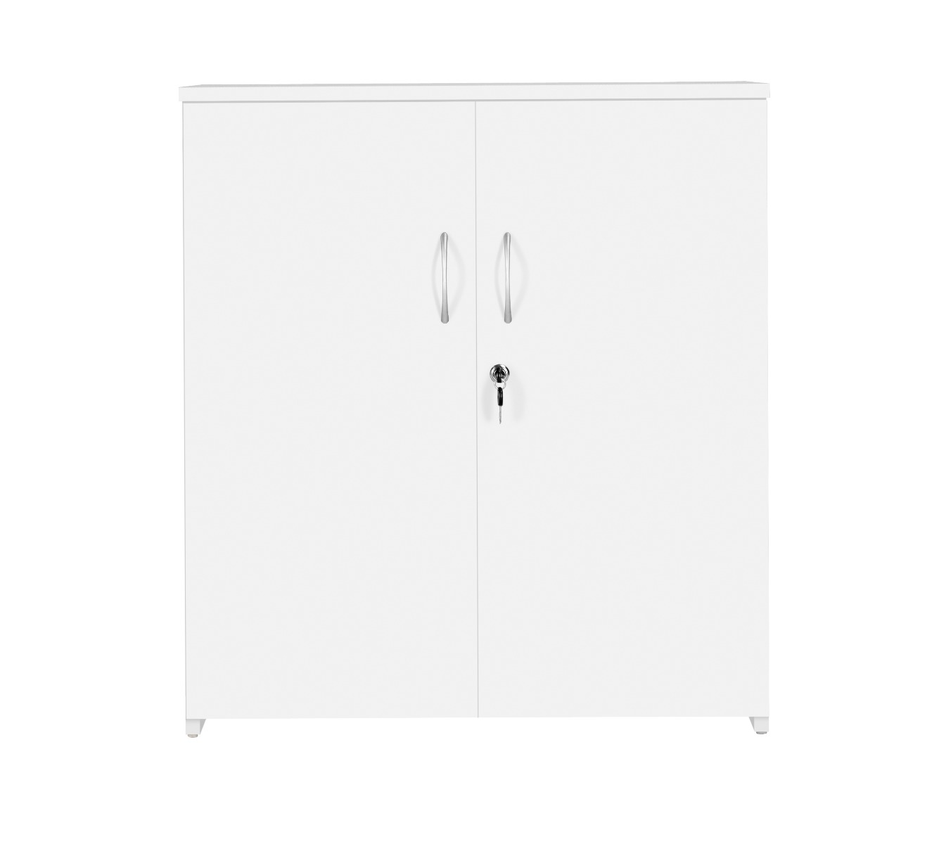 TC Office Next Day Eco 18 Premium White Office Cupboard