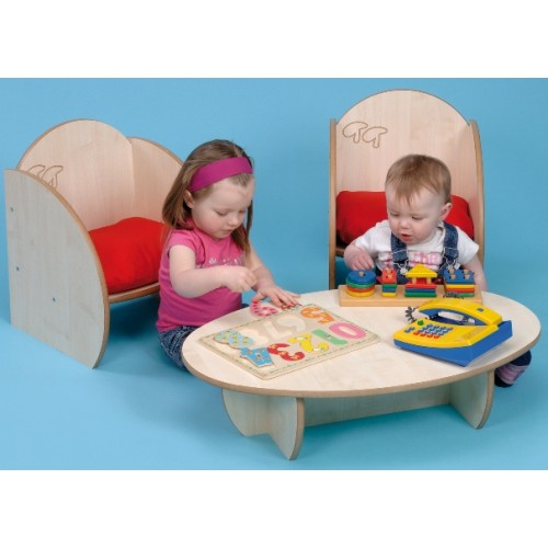 Twoey Toys Mini Range Toddler Chair and Table Set