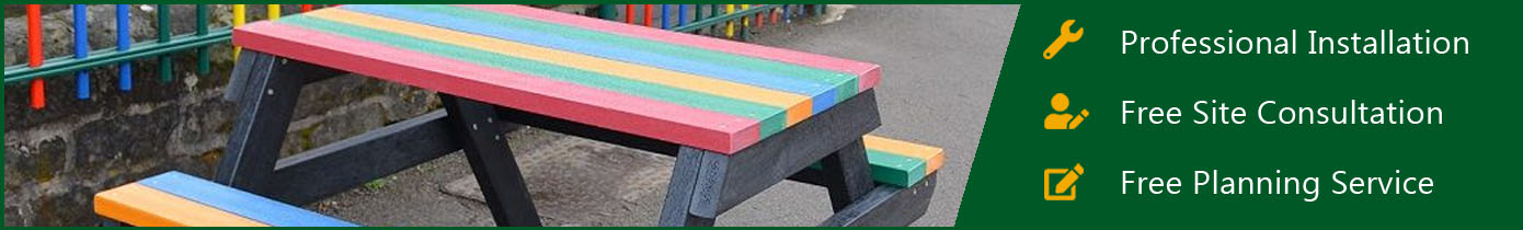 Children's Recycled Plastic Picnic Furniture