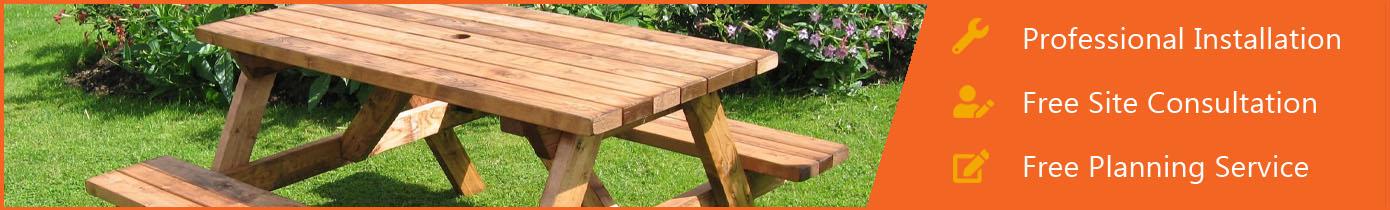 Wooden Picnic Furniture