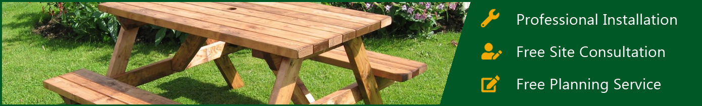 Wooden Picnic Furniture